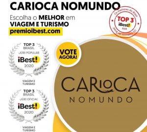 Carioca NoMundo no Prêmio Ibest
