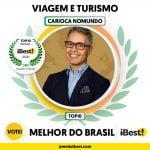 Carioca NoMundo no Prêmio iBest! 2021