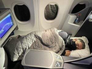 A nova classe executiva da Copa Airlines a bordo do 737 MAX-9