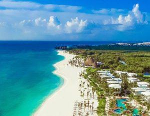 O resort Andaz Mayakoba, em Playa del Carmen, no México